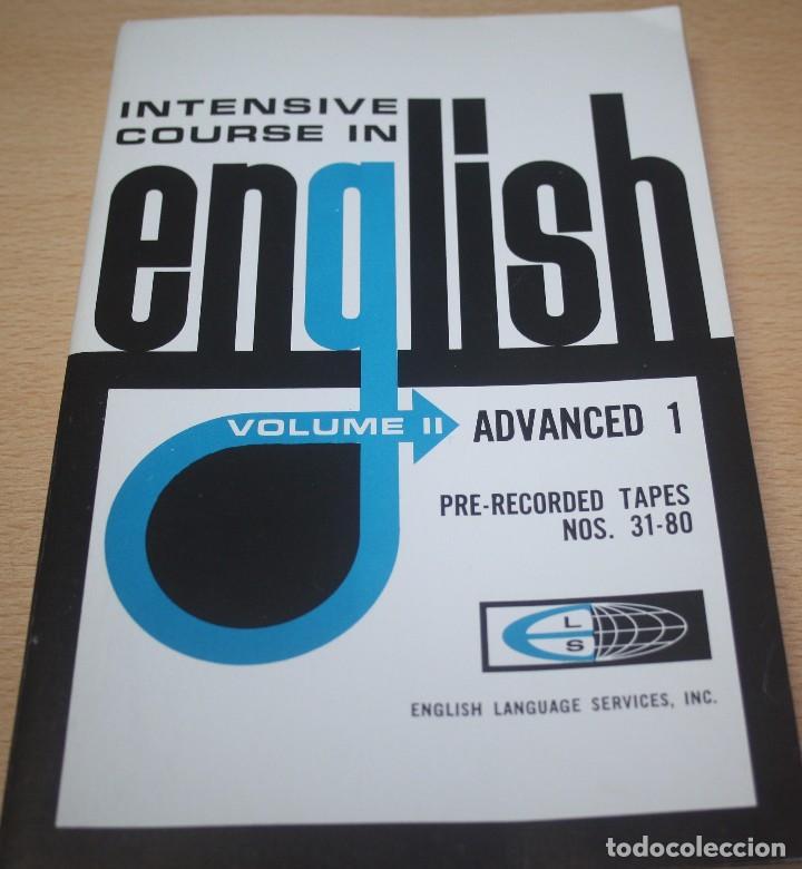 INTENSIVE COURSE IN ENGLISH – VOLUME II – ADVANCED 1 (Libros de Segunda Mano - Cursos de Idiomas)