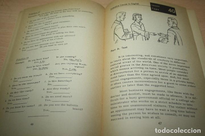 Libros de segunda mano: Intensive course in English – Volume II – Advanced 1 - Foto 3 - 80669638