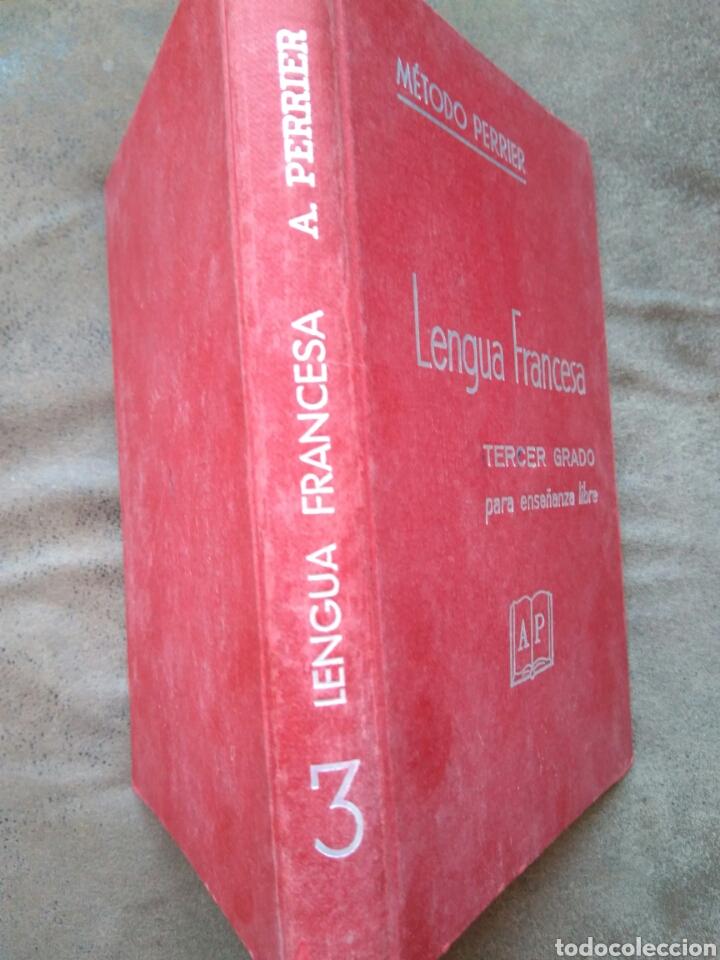 Libros de segunda mano: LENGUA FRANCESA -TERCER GRADO PARA ENSEÑANZA LIBRE- MÉTODO PERRIER. 1969 - Foto 2 - 82022424