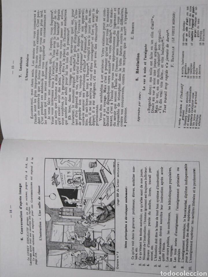 Libros de segunda mano: LENGUA FRANCESA -TERCER GRADO PARA ENSEÑANZA LIBRE- MÉTODO PERRIER. 1969 - Foto 5 - 82022424