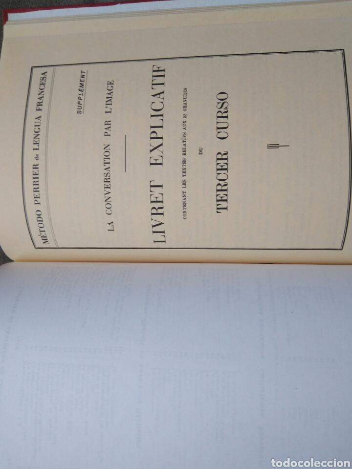 Libros de segunda mano: LENGUA FRANCESA -TERCER GRADO PARA ENSEÑANZA LIBRE- MÉTODO PERRIER. 1969 - Foto 7 - 82022424