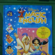 Libros de segunda mano: DISNEY'S MAGIC ENGLISH - 16 TOMOS - 32 VHS. Lote 83173136