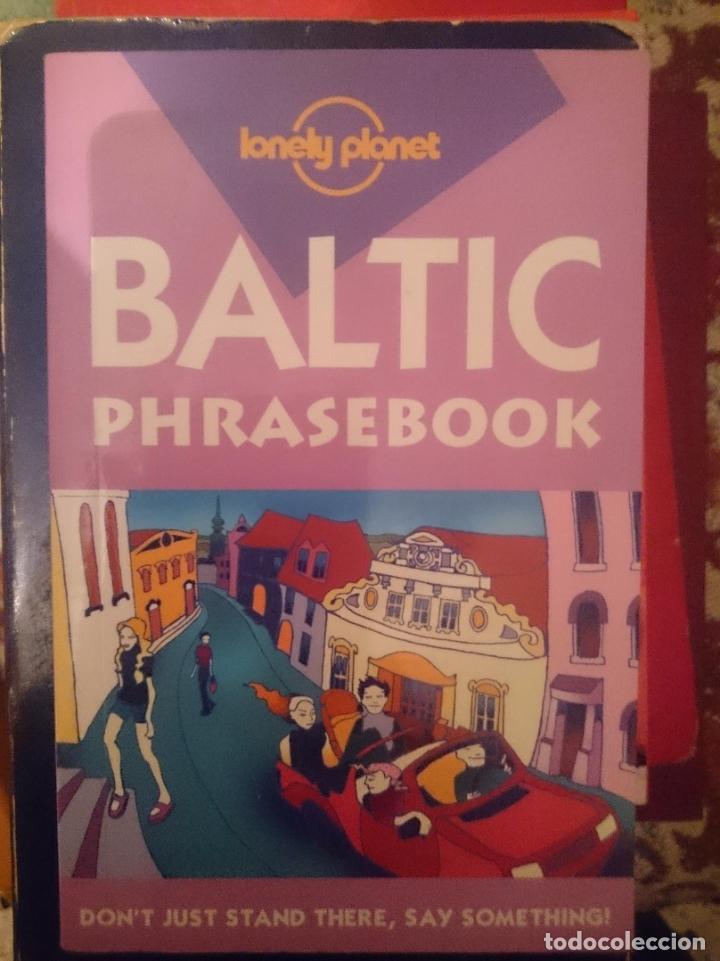 BALTIC PHRASEBOOK -GUIA PARA CONVERSAR -LETON LITUANO ESTONIANDO E INGLES -LONELY PLANET -REFM3E2 (Libros de Segunda Mano - Cursos de Idiomas)