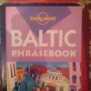 Libros de segunda mano: BALTIC PHRASEBOOK -GUIA PARA CONVERSAR -LETON LITUANO ESTONIANDO E INGLES -LONELY PLANET -REFM3E2. Lote 83771740