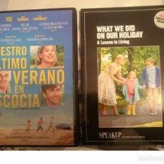 Libros de segunda mano: NUESTRO ÚLTIMO VERANO EN ESCOCIA - DVD Y LIBRO SPEAK UP --REFMENOEN. Lote 84469036