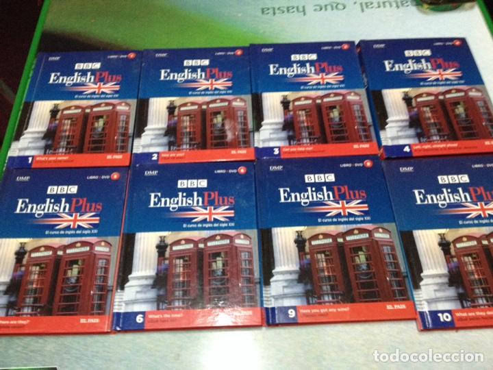 CURSO DE INGLÉS BBC ENGLISH PLUS. TOMOS 1,2,3,4,5,6,9,10 (LIBRO + DVD) (Libros de Segunda Mano - Cursos de Idiomas)