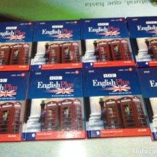 CURSO DE INGLÉS BBC ENGLISH PLUS. TOMOS 1,2,3,4,5,6,9,10 (LIBRO + DVD)
