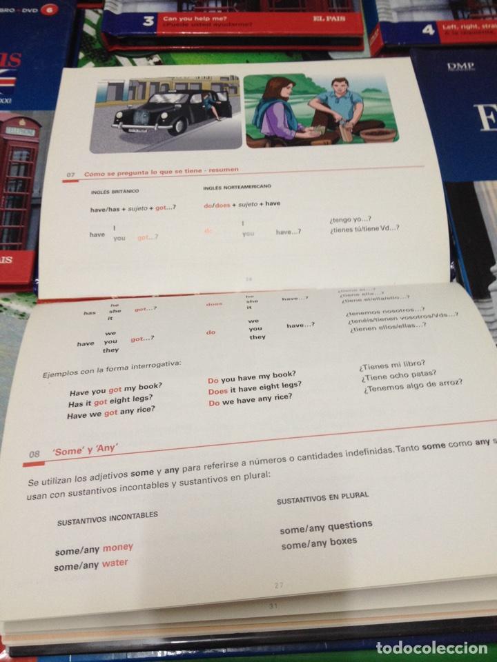 Libros de segunda mano: CURSO DE INGLÉS BBC ENGLISH PLUS. TOMOS 1,2,3,4,5,6,9,10 (LIBRO + DVD) - Foto 3 - 86174691