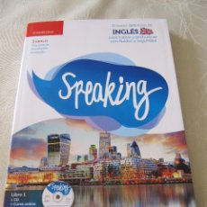 Libros de segunda mano: LIBRO SPEAKING EL CURSO DEFINITIVO DE INGLES . Lote 88940300