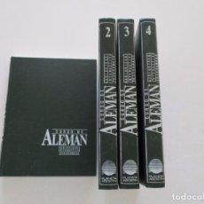 Libros de segunda mano: VV.AA. CURSO DE ALEMÁN, CUATRO TOMOS. RMT81370. . Lote 89289956