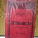 Libros de segunda mano: MÉTODO DE INGLÉS - LEWIS TH. GIRAU (LIBRO PRIMERO Y SEGUNDO). Lote 92866570