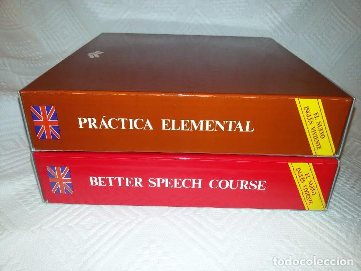 DOS CURSOS COMPLETOS DE INGLÉS-CASETTES PRECINTADAS-1981 (Libros de Segunda Mano - Cursos de Idiomas)