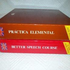 Libros de segunda mano: DOS CURSOS COMPLETOS DE INGLÉS-CASETTES PRECINTADAS-1981. Lote 94429646
