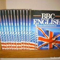 Libros de segunda mano: BBC ENGLISH CURSO COMPLETO DE INGLES - 12 TOMOS / COMPLETA - SALVAT. Lote 97222851