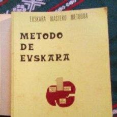 Libros de segunda mano: METODO DE EUSKARA. EUSKARA IKASTEKO METODOA. XABIER GEREÑO. ED. EKIN. 1976. Lote 97740983