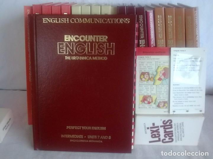 Libros de segunda mano: Curso de ingles Encounter English The Britannica Method - Foto 7 - 164697489