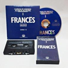 Libros de segunda mano: CINTA CASETE Y CD: 1 DE FRANCES DE PLANETA DE AGOSTINI. Lote 98764427