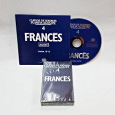 Libros de segunda mano: CINTA CASETE Y CD: 4 DE FRANCES DE PLANETA DE AGOSTINI. Lote 98764703