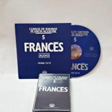 Libros de segunda mano: CINTA CASETE Y CD: 5 DE FRANCES DE PLANETA DE AGOSTINI. Lote 190499721
