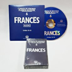 Libros de segunda mano: CINTA CASETE Y CD: 6 DE FRANCES DE PLANETA DE AGOSTINI. Lote 98764903