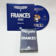 Libros de segunda mano: CINTA CASETE Y CD: 7 DE FRANCES DE PLANETA DE AGOSTINI. Lote 98764955
