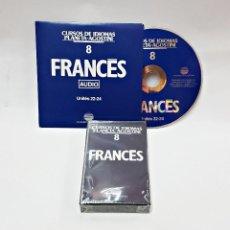 Libros de segunda mano: CINTA CASETE Y CD: 8 DE FRANCES DE PLANETA DE AGOSTINI. Lote 98765015