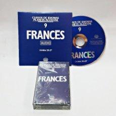 Libros de segunda mano: CINTA CASETE Y CD: 9 DE FRANCES DE PLANETA DE AGOSTINI. Lote 98765091
