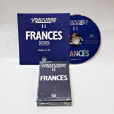 Libros de segunda mano: CINTA CASETE Y CD: 11 DE FRANCES DE PLANETA DE AGOSTINI. Lote 98765587