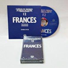 Libros de segunda mano: CINTA CASETE Y CD: 12 DE FRANCES DE PLANETA DE AGOSTINI. Lote 98765623