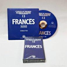 Libros de segunda mano: CINTA CASETE Y CD: 13 DE FRANCES DE PLANETA DE AGOSTINI. Lote 98765695