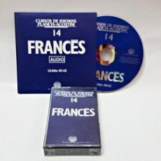 Libros de segunda mano: CINTA CASETE Y CD: 14 DE FRANCES DE PLANETA DE AGOSTINI. Lote 98765751