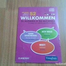 Libros de segunda mano: CD-ROM BUCH 13 EJERCICIOS -- WILLKOMMEN -- EL ALEMÁN A SU ALCANCE -- CURSO DE IDIOMA -- EL MUNDO. Lote 98866895