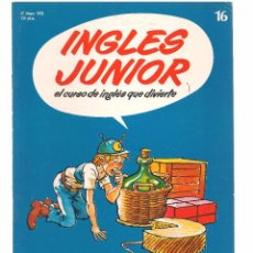 Libros de segunda mano: INGLÉS JUNIOR, EL CURSO DE INGLÉS QUE DIVIERTE. FASCÍCULO Nº 16. SALVAT. (B/59). Lote 99525707