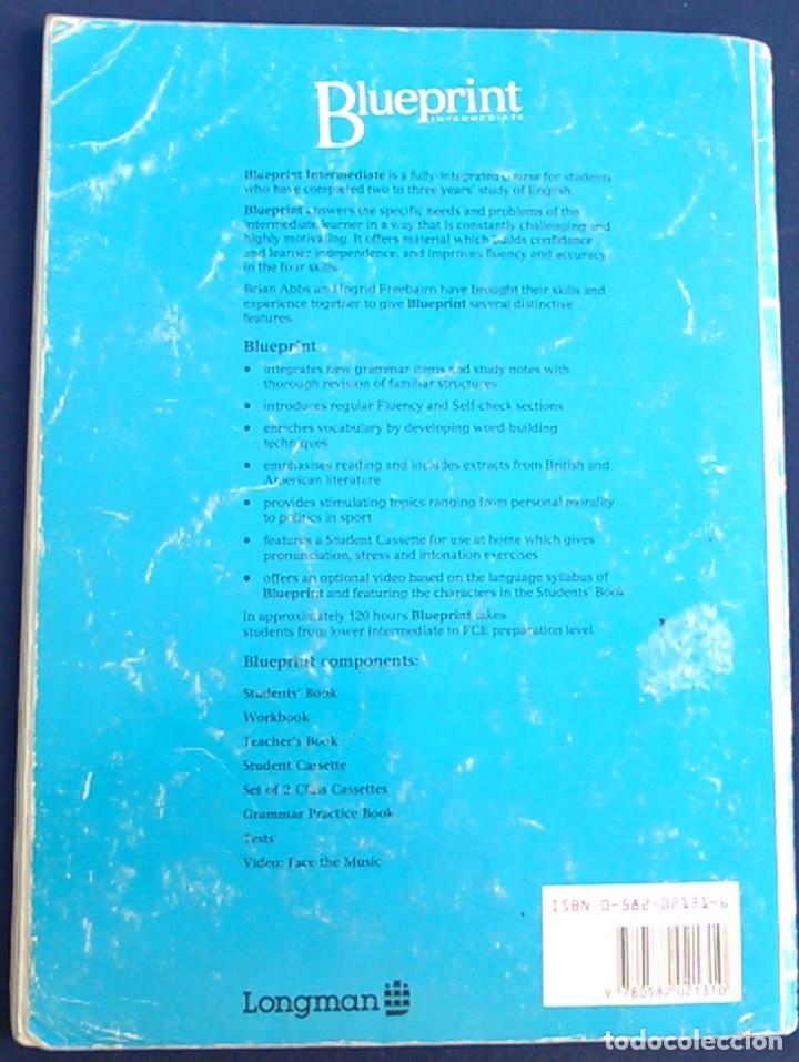 Blueprint intermediate students book longman comprar cursos de libros de segunda mano blueprint intermediate students book longman brian abbs malvernweather Gallery