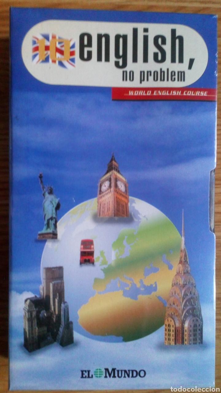 LOTE DE CINTAS PRESCINTADAS. ENGLISH, NO PROBLEM. SON 6 NUEVAS. (Libros de Segunda Mano - Cursos de Idiomas)