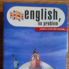 Libros de segunda mano: LOTE DE CINTAS PRESCINTADAS. ENGLISH, NO PROBLEM. SON 6 NUEVAS.. Lote 100973515
