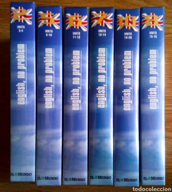 Libros de segunda mano: LOTE DE CINTAS PRESCINTADAS. ENGLISH, NO PROBLEM. SON 6 NUEVAS. - Foto 3 - 100973515