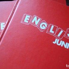 Libros de segunda mano: ENGLISH JUNIOR, OBRA COMPLETA. Lote 101281471