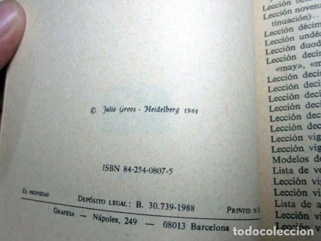 Libros de segunda mano: Gramática sucinta de la lengua inglesa. Método Gaspey Otto Saver. Herder-Gross PEDIDO MÍNIMO 5€ - Foto 2 - 101309851