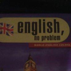 Libros de segunda mano: ENGLISH, NO PROBLEM. WORLD ENGLISH COURSE. DIARIO EL MUNDO. FICHERO. PÁGINAS 632. PESO 1800 GR.. Lote 102023284
