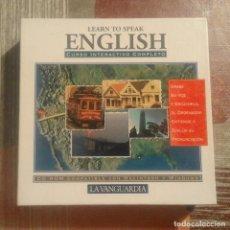 Libros de segunda mano: LEARN TO SPEAK ENGLISH - CURSO INTERACTIVO COMPLETO - 7 CD-ROM. Lote 104705491