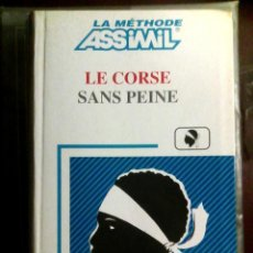 Libros de segunda mano: LE CORSE SANS PEINE - ASSIMIL / CORSO, IDIOMAS, SIN ESFUERZO /. Lote 106105063