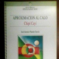 Libros de segunda mano: APROXIMACIÓN AL CALÓ (COPIA) - JOSÉ ANTONIO PLANTÓN GARCÍA / IDIOMA GITANO, ROMANÍ, LINGÜÍSTICA. Lote 106540999