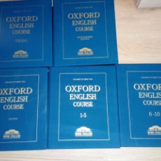 Libros de segunda mano: HOME ENGLISH OXFORD - CURSO INGLÉS COMPLETO / 5 ESTUCHES - CD ROM, LIBROS, CASETES... Lote 110228535