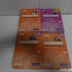 Libros de segunda mano: LOTE DE 93 CDS DEL CURSO INTENSIVE VAUGHAN ENGLISH - EL MUNDO. Lote 110760011