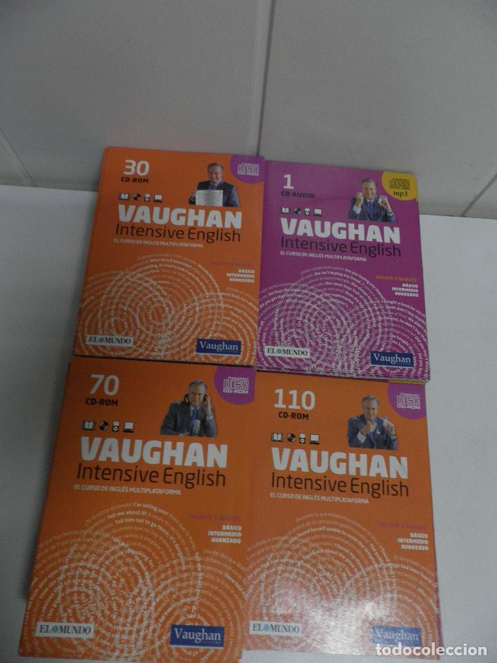 Libros de segunda mano: LOTE DE 93 CDS DEL CURSO INTENSIVE VAUGHAN ENGLISH - EL MUNDO - Foto 2 - 110760011