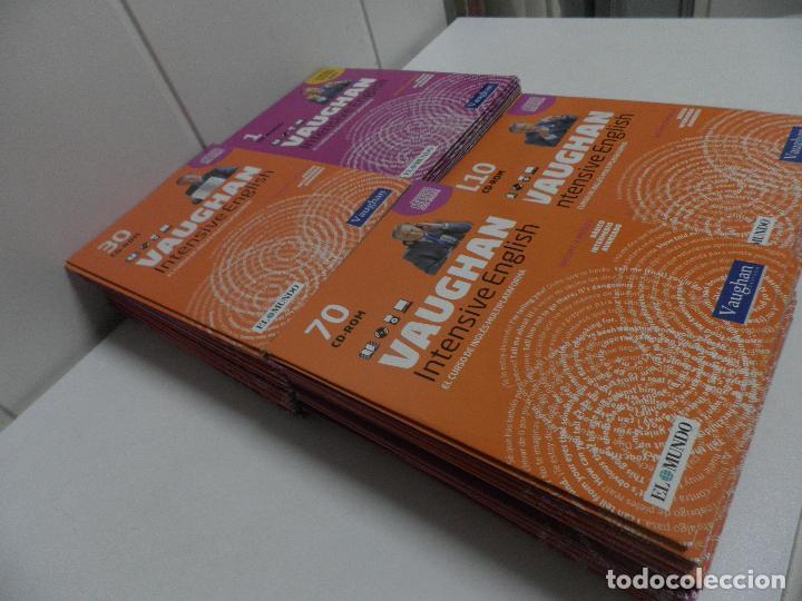 Libros de segunda mano: LOTE DE 93 CDS DEL CURSO INTENSIVE VAUGHAN ENGLISH - EL MUNDO - Foto 4 - 110760011