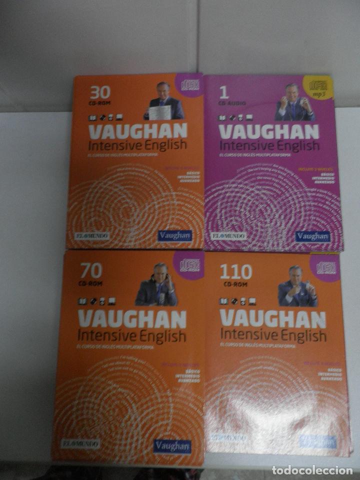 Libros de segunda mano: LOTE DE 93 CDS DEL CURSO INTENSIVE VAUGHAN ENGLISH - EL MUNDO - Foto 5 - 110760011