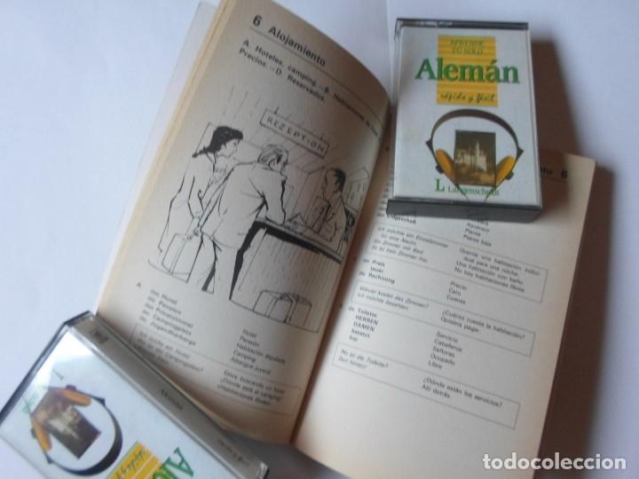 Libros de segunda mano: APRENDE TU SOLO ALEMAN - DIETHARD LUBKE - ED. PIRAMIDE - LIBRO + 2 CASSETTES - Foto 2 - 110983183