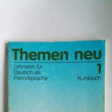 Libros de segunda mano: THEMEN NEU 1 KURSBUCH LEHRWERK FÜR DEUTSCH ALS FREMDSPRACHE. Lote 113108823